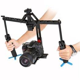 Saver 2-Achsen-Spinne Stoßdämpfer Auto Video Handheld-Stabilizer Gimbal für DSLR Canon Nikon Sony -