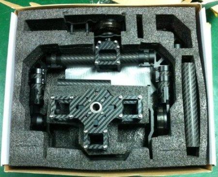 XINTE DYS Brushless 3-Achsen- Stabilisierung PTZ Gimbal Agle Augenkamerahalterungfür DSLR-Kamera -