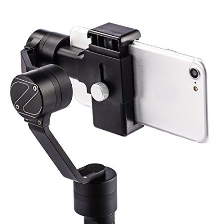 Zhiyun Smooth-C 3-Achsen Gimbal Schwebestativ für Smartphone iPhone Samsung mit TARION Mikrofasertuch -