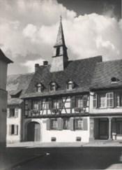 Casa natal de Albert Schweitzer en Kaysersberg. ©Archives Centrales Albert Schweitzer Gunsbach