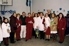 Promesa a la Bandera junto con la Escuela Vera Peñaloza de Colonia Barragán - 2000 - Schweitzer