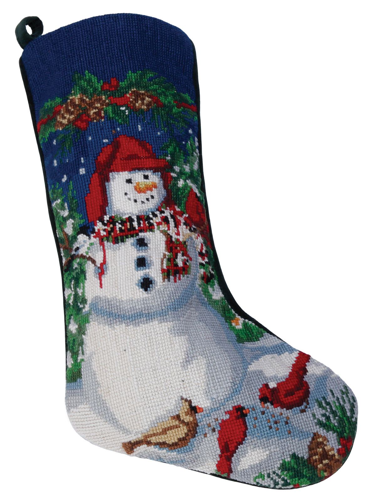 Christmas Stockings Snowman  Accessories  Schweitzer Linen