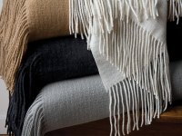 Cachet Cashmere Throw - Cashmere Throws - Luxury Throws ...