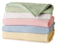 Cotton Thermal Blankets - Luxury Blankets - Luxury Bedding ...