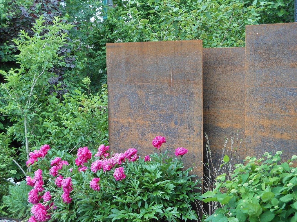 Gartengestaltung Sichtschutz Stahl Siddhimindinfo Startseite