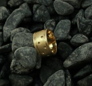 ring rlbrass size 8.75 - 9