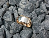 ring Bronze, Sterling Silver size 9.5 - 1