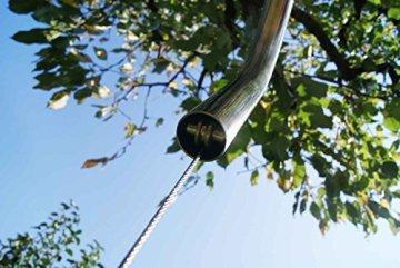 Edelstahl Grillgalgen + 70 cm Grill nur 14mm Stababstand Gartengrill Grill Grillrost Schwenkgrill Schwenker BBQ - 6