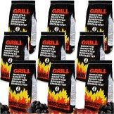 27 Kg Grillbriketts Holzkohle Grillkohle Holzkohlebriketts Holzkohlegrill Grill 9 x 3kg -