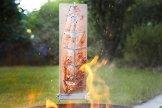 FINNWERK Flammlachsbrett Doppelset, Lachs vom Feuer (Edelstahlhalter mit Winkelsystem, einfache Einstellung, massive Birke) - 3