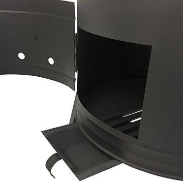 Grillplanet Gulaschkessel Gulaschkanone mit 30 Liter Gulaschkessel emailliert - 8
