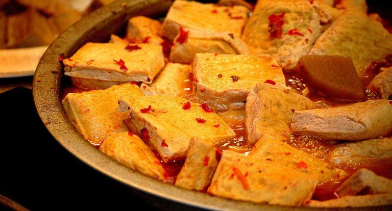 Gegrillter Tofu mit Marinade
