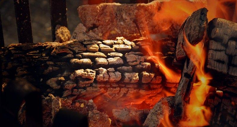 Schwenkgrill Feuerschale 1