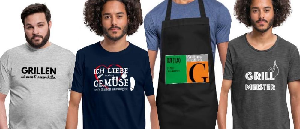 Schwenkgrill-Grill-Shirts