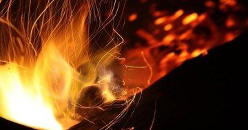 Funkenschutz für die Feuerschale