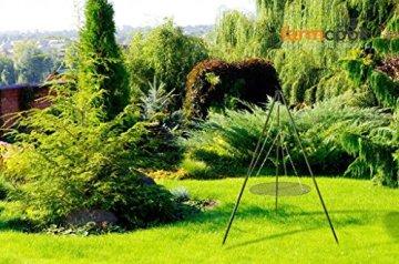 FARMCOOK Schwenkgrill NOBEL Dreibein mit Grillrost aus Rohstahl in 4 Größen (Ø 70 cm) - 5