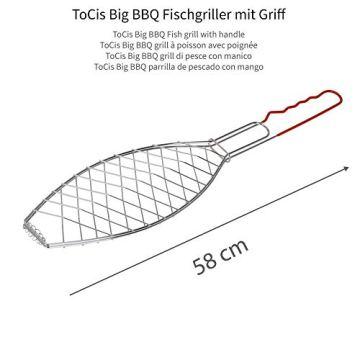 ToCis Big BBQ Fischgriller Sets (Silber) - 2