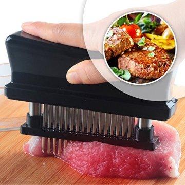 ORBLUE Fleischzartmacher mit 48 Edelstahlklingen - 5