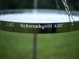 Schwenkgrill ABC - Runder Grillrost-60-cm