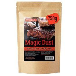Magic Dust BBQ Rub • Gewürzmischung zum Grillen und Marinieren von Fleisch • in Deutschland von Hand abgefüllt • 750g in der XXL Vorratspackung - 1