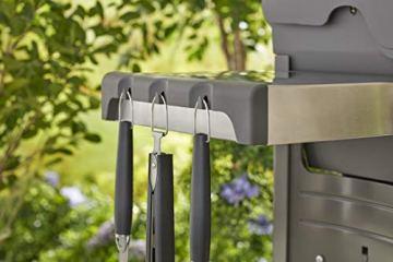 Weber 6630 Premium Grillbesteck, 3-teilig bestehend aus Zange, Wender und Grillgabel, 46 cm - 4