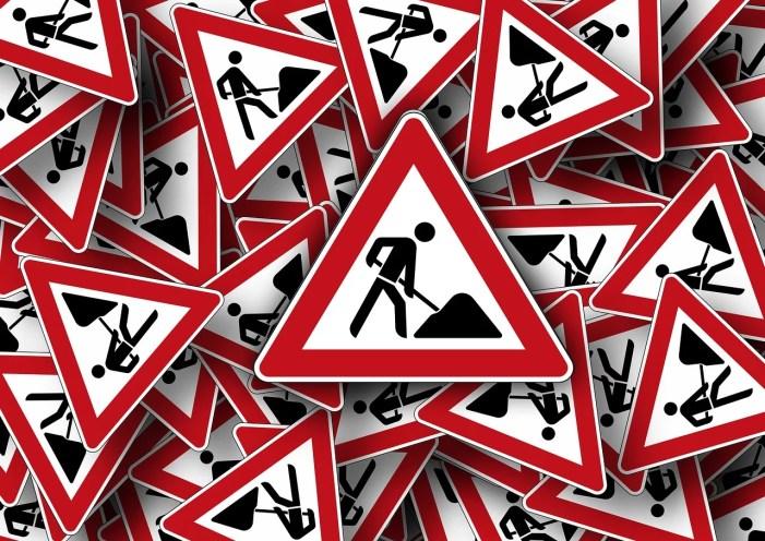 Aktuelle Verkehrsmeldungen aufgrund von Bauarbeiten