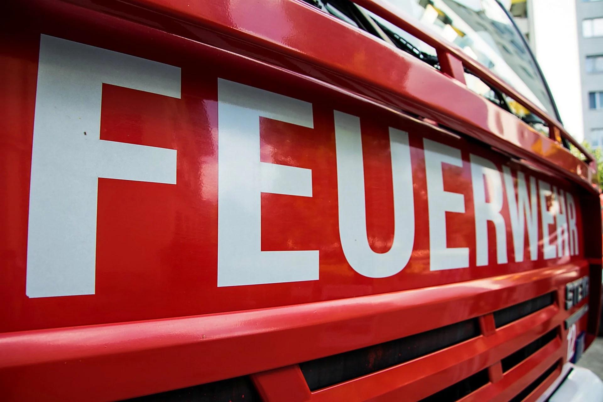 Feuerwehreinsatz Schwerin