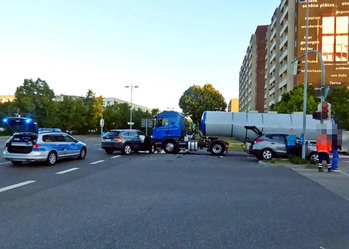 Unfallstatistik für Schwerin vorgelegt
