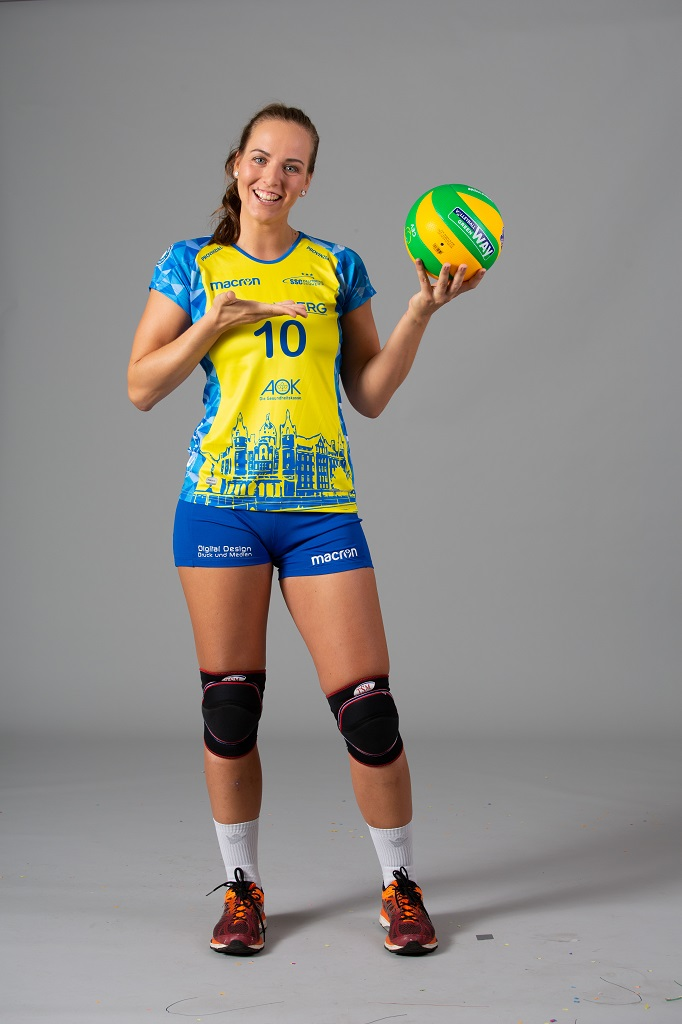 Anpfiff für den gelb-grünen Volleyball