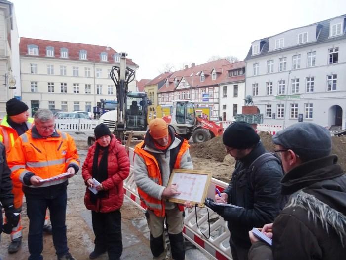Schlachtermarkt: Keine Verlängerung der archäologischen Grabungen