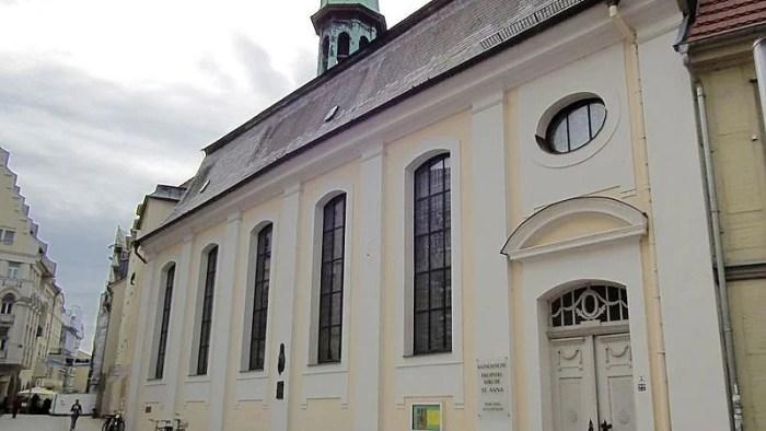 ZDF überträgt am Sonntag katholischen Gottesdienst aus St. Anna in Schwerin