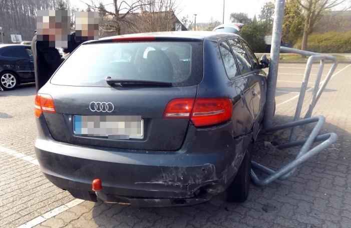 Hoher Sachschaden beim Ausparken