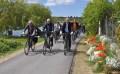 Neu gestalteter Radweg feierlich übergeben