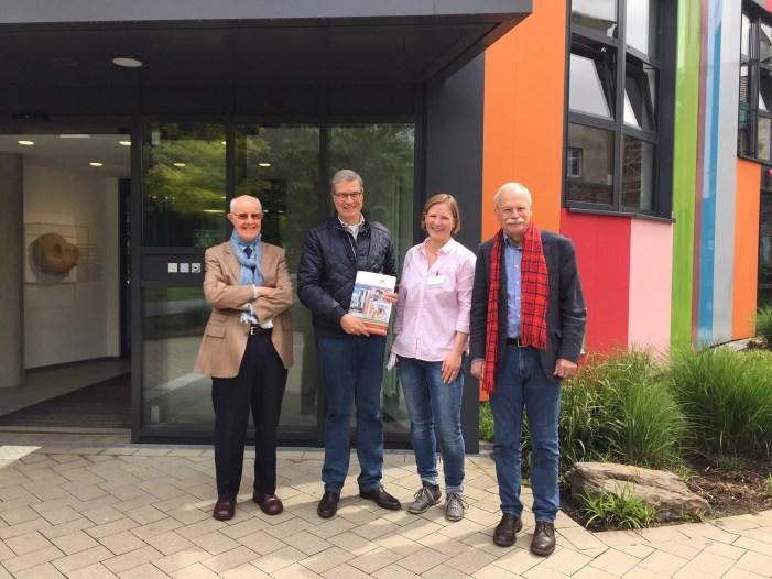 Stadtpräsident besucht Junior Uni in Partnerstadt Wuppertal