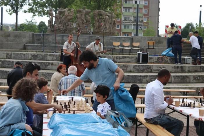 Tag der offenen Gesellschaft wurde am Berliner Platz gefeiert