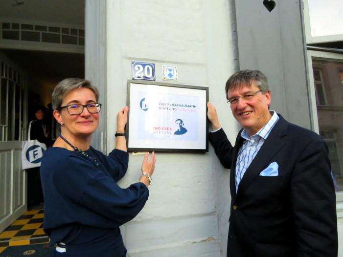 Büroeröffnung: Friedrich-Naumann-Stiftung gibt der Freiheit eine Stimme in Schwerin