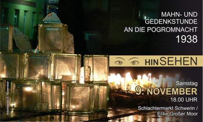 Schwerin: Mahn- und Gedenkstunde