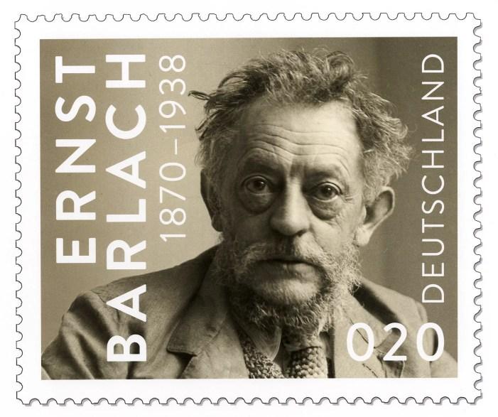 Schwerin: Barlach-Ehrung auf Briefmarken