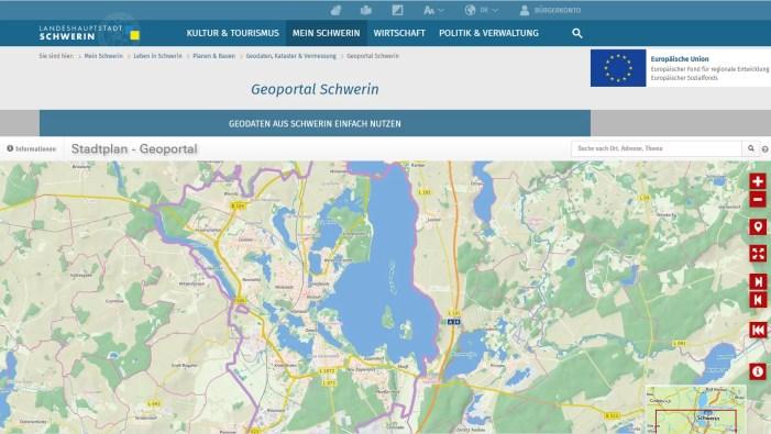 Schwerin: Scheinbar amtliche Liegenschaftskarten