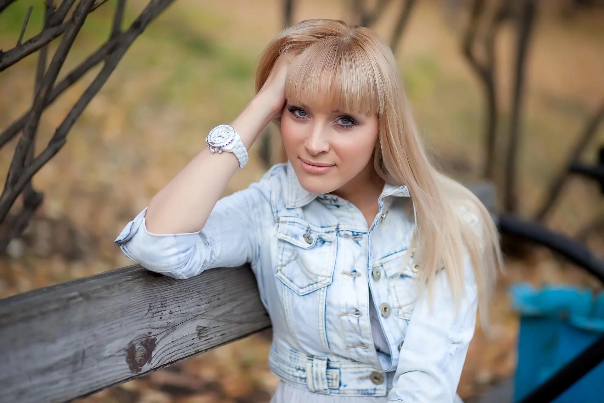 Russin hübsche Renata Lusin
