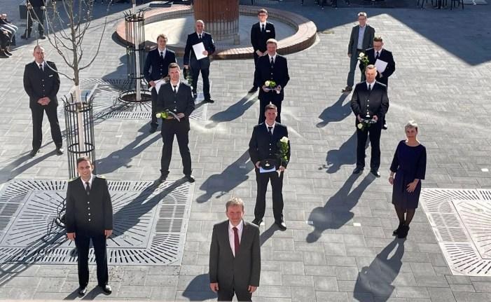 Schwerin: Verstärkung für die Berufsfeuerwehr
