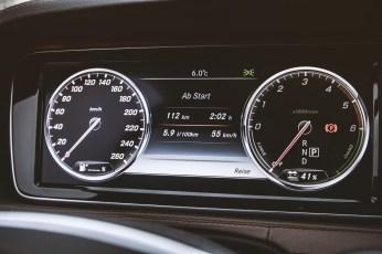 Der kleinste Verbrauch lag bei 5,9 l Diesel/100 km auf einer Landstraßentour