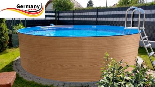 Holzpool 2,0 x 1,2 m   Schwimmbecken Shop