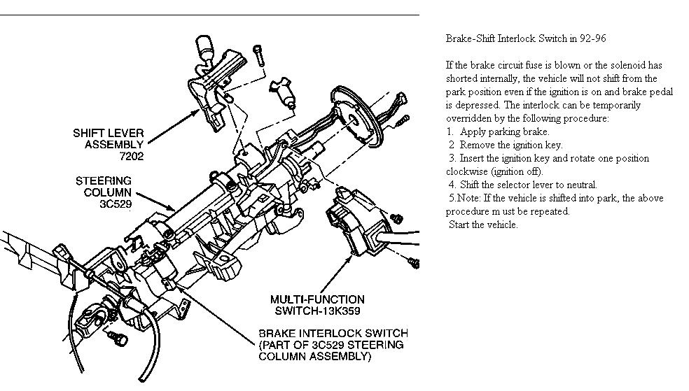 Ford Aod Neutral Safety Switch Wiring Diagram. Ford