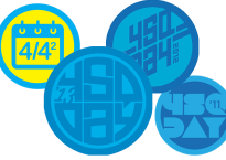 History of Foursquare Day Badges
