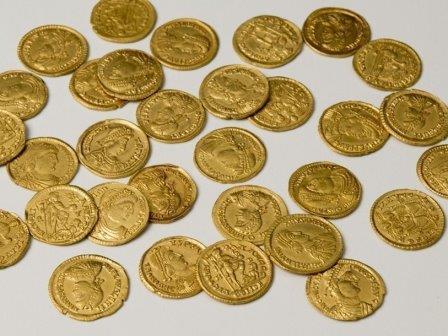 Монеты из деревни Линден