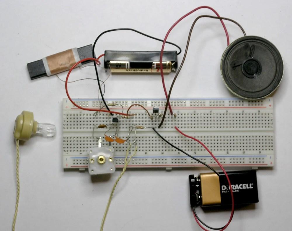 medium resolution of a simple 1 watt audio amplifier