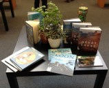 Books illustrated by exhibitors. Photo: Emily S Damstra