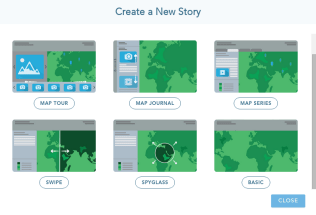 Your 6 storymap types