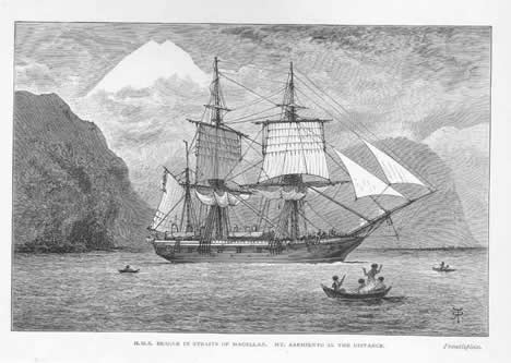 HMS Beagle by R.T. Pritchett